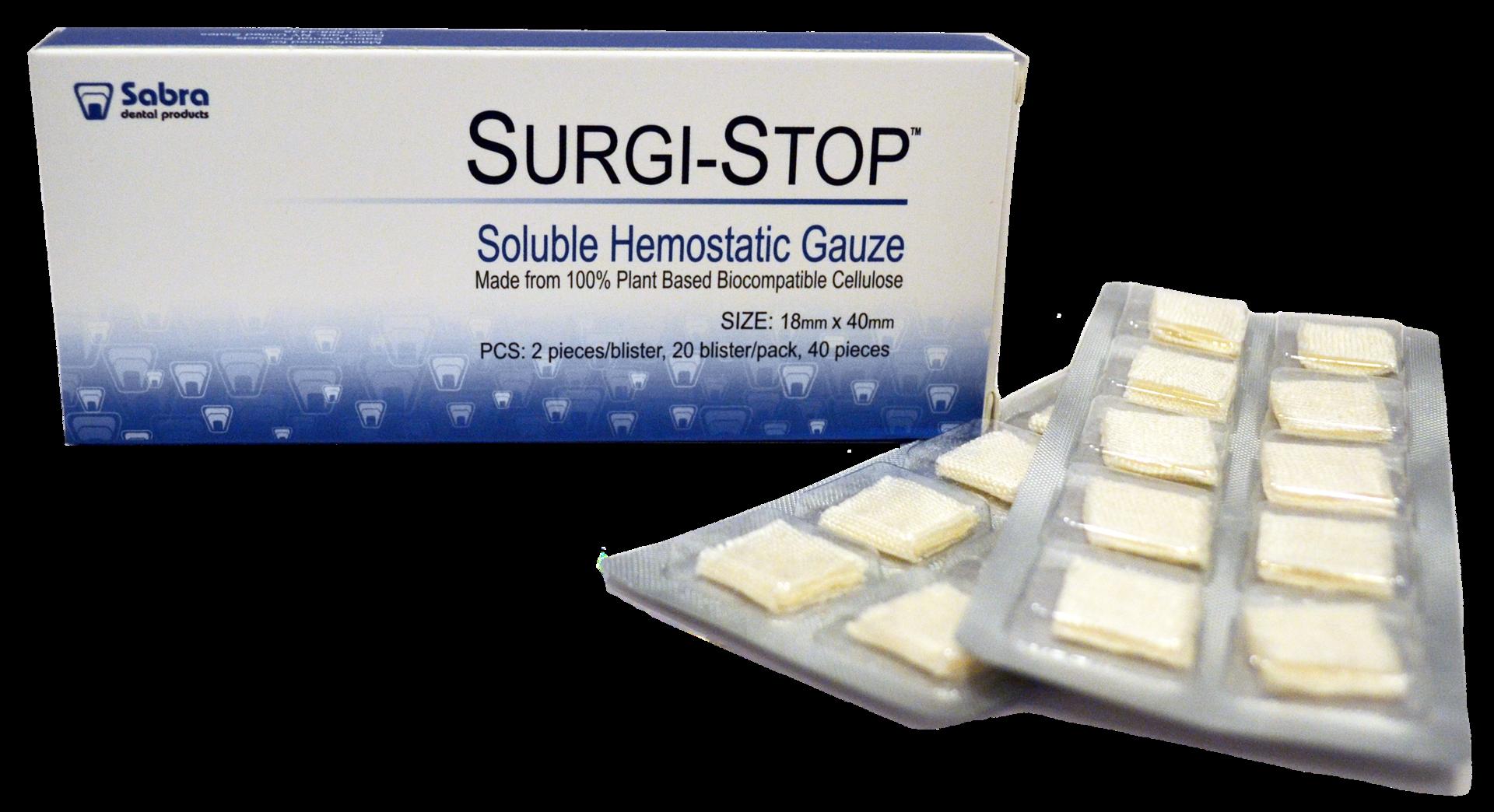 Surgi-stop Gauze Soluable Soluable Hemostatic Surgi-stop Surgi-stop Hemostatic Hemostatic Soluable Soluable Gauze Hemostatic Gauze Surgi-stop